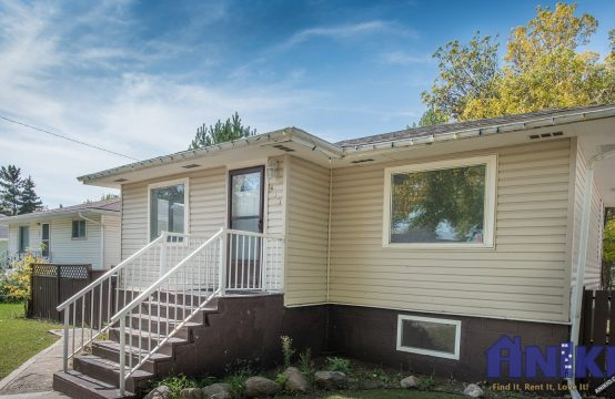 Exterior photo of house for rent in Pleasant Hill, Saskatoon