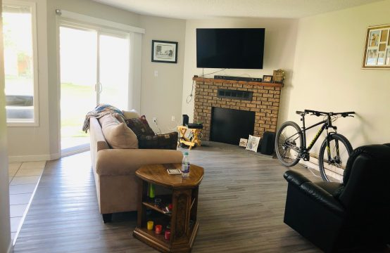 Beautiful Main Floor Two Bedroom Condo in Wildwood Backing Green Space